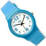 J-AXIS カラフルウォッチ ぷちぷら&可愛い人気腕時計 ブルー TCL27-BL