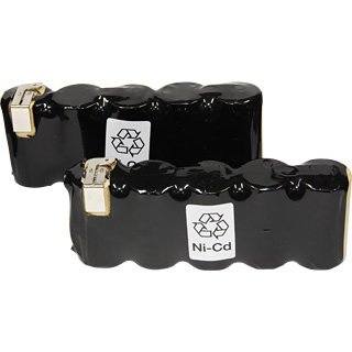ブラックアンドデッカー(BLACK&DECKER) Z-PD1200用交換用バッテリー(2個1組) 90584779X2