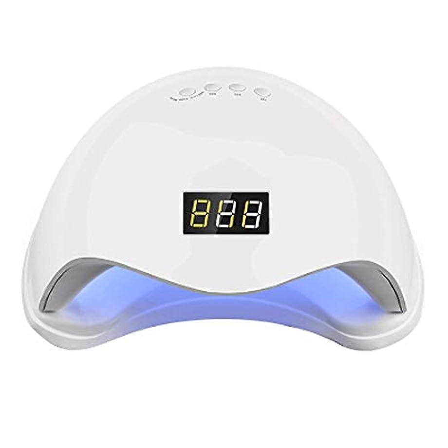 購入漏れ卵ZXCVB 48W UV/LEDネイルドライヤーUVネイル硬化ランプ、10C / 30C / 60C、プロフェッショナルネイルアートでは、家庭やサロンのためにしてネイルランプ硬化36-LEDジェルネイルポリッシュ - 速乾性ジェル用ハンド/フット