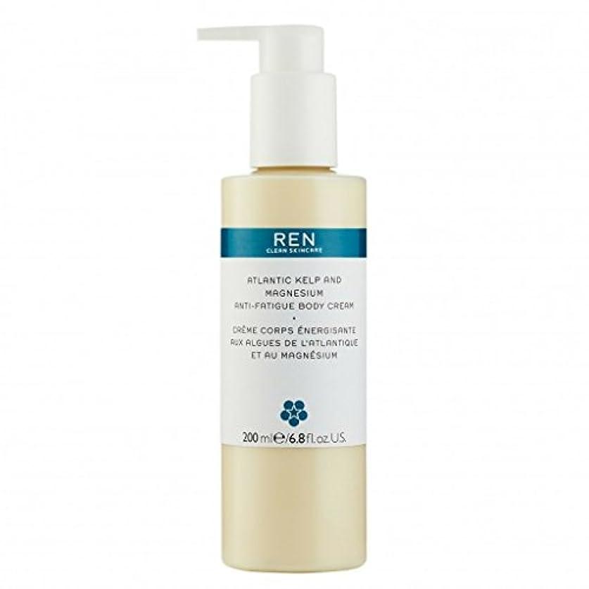 スナップパブシェードREN - Atlantic Kelp And Magnesium Anti-Fatigue Body Cream