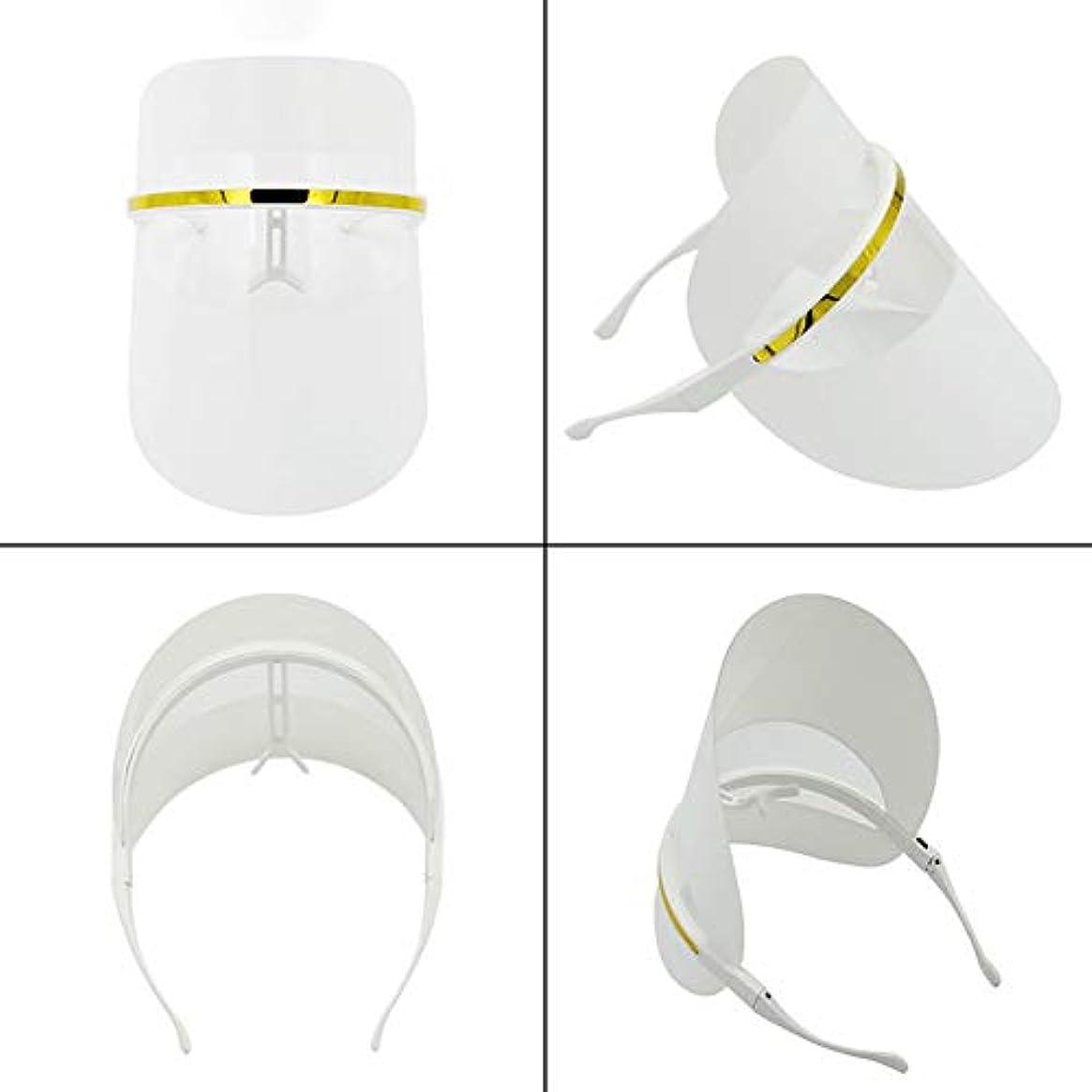 少年信頼できるディレクトリ7色LEDフェイスマスク、LEDフォトンビューティーマスク、健康的な肌の若返りのためのフォトンレッドライトセラピー、コラーゲン、アンチエイジング、しわ、瘢痕