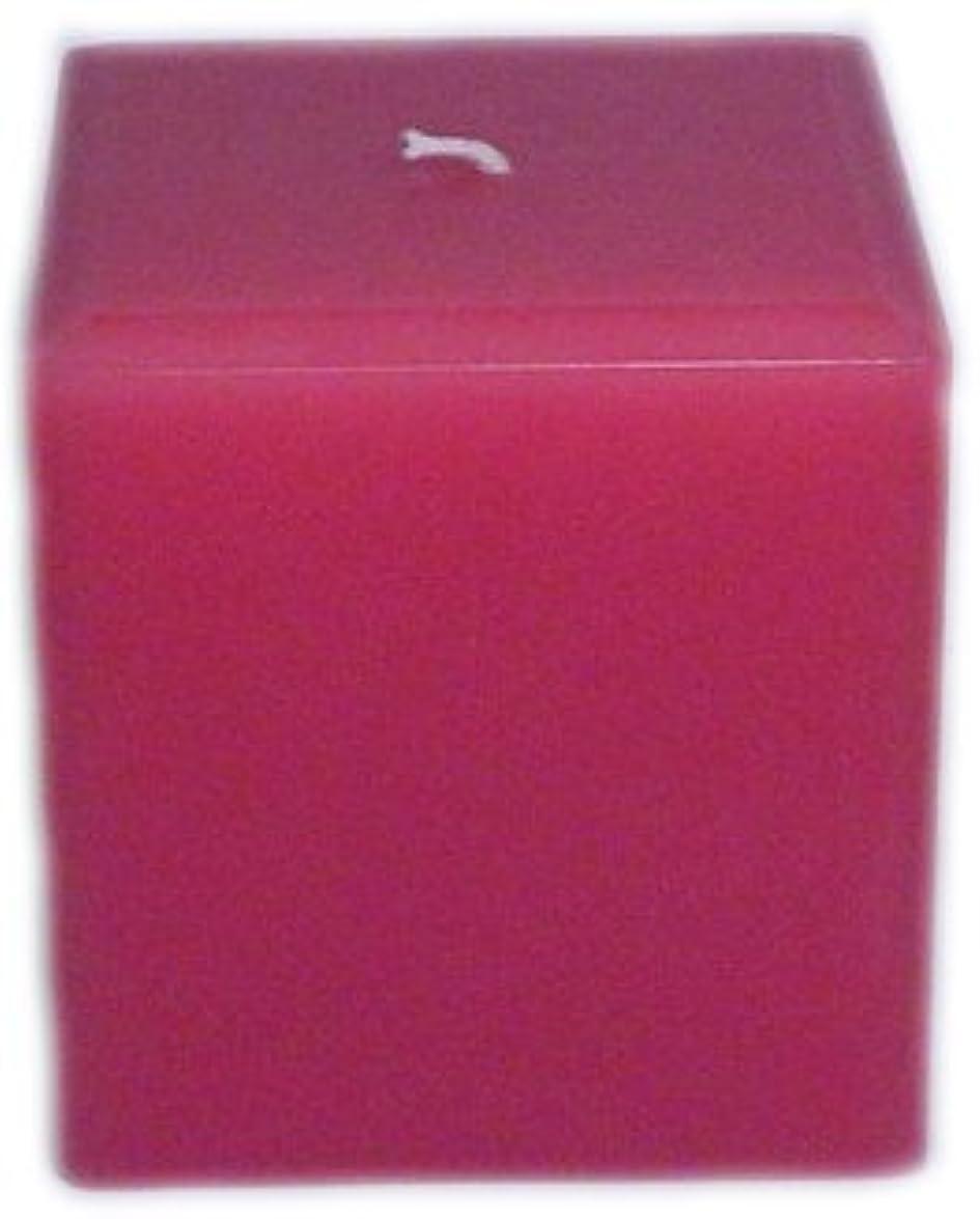 線レンチ起きるTrinity Candle工場 – Caramel Toffee – Pillar Candle – 正方形 – 4 x 4