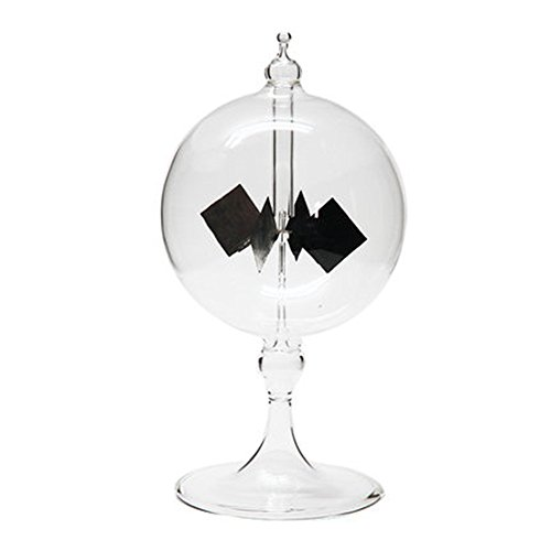 Scigeek ラジオメーター ソーラー風車 永久機関 オフィスデスクの装飾品