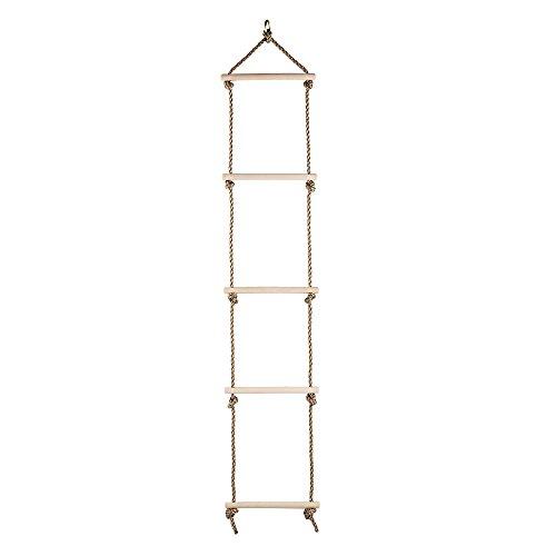 RoomClip商品情報 - Toyment 木製縄 はしご アウトドア スポーツ子ども、クライミング  スポーツ練習、室内、アウトドア、ジャングルジム (小さい型)