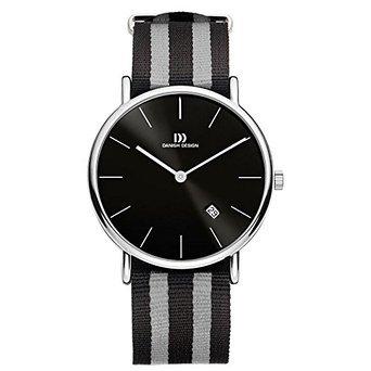 ダニッシュデザイン Danish Design IQ13Q1048 SS Case Nylon Strap Black Dial Men's Watch 男性 メンズ 腕時計 【並行輸入品】