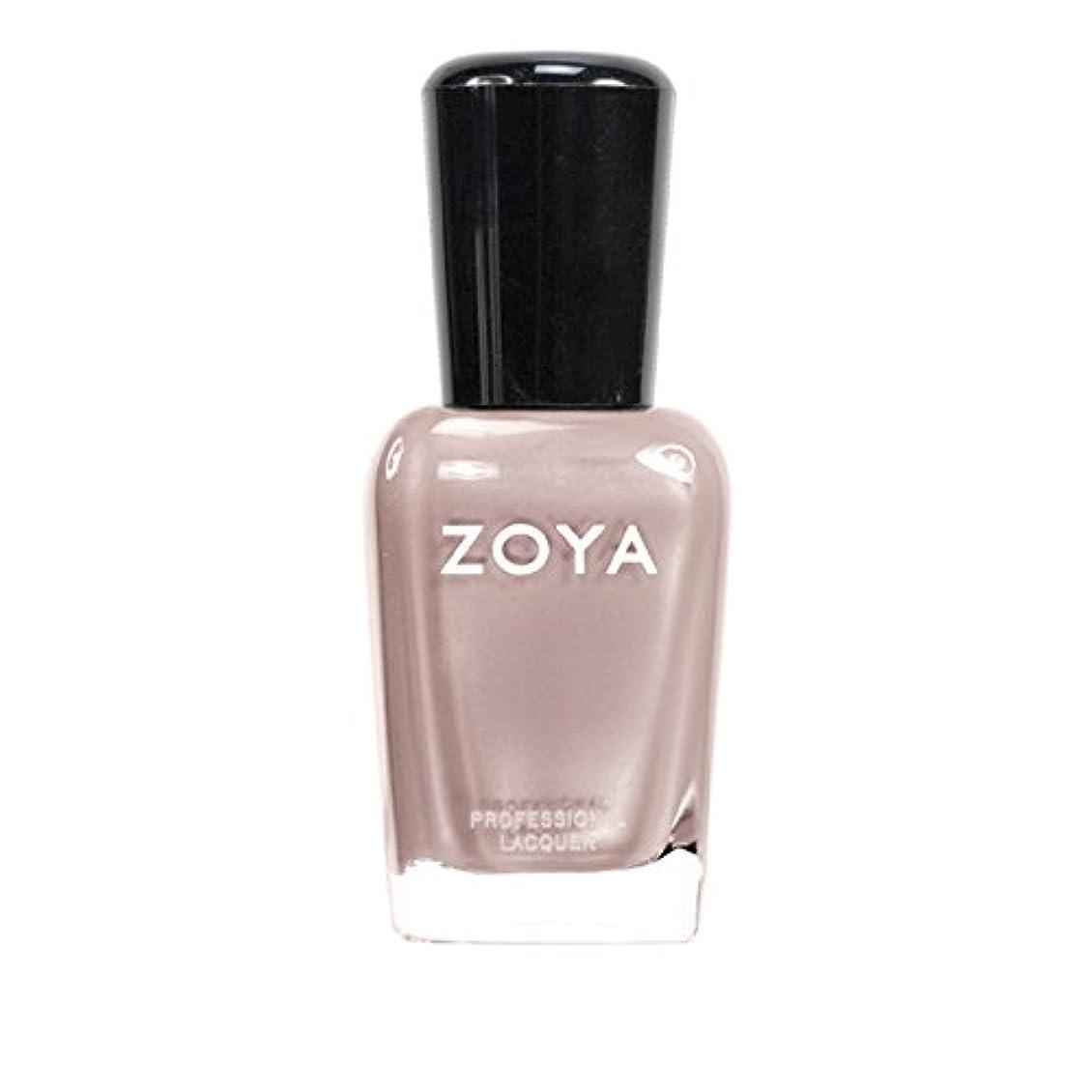 腹痛香水抹消ZOYA ゾーヤ ネイルカラーZP563 PANDORA パンドラ 15ml  ピンクヌードベージュ マット/クリーム 爪にやさしいネイルラッカーマニキュア