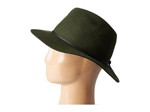ブリクストン アクセサリー 帽子 Wesley Fedora Moss/Black [並行輸入品]