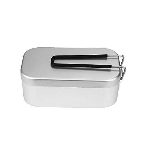 MiliCamp正規品メスティン ハンドルカバー付き アルミ飯盒 キャンプ用品  アウトドア 自動炊飯 調理器具 バリ取り不要 MR-250 ドイツLFGB食品安全合格
