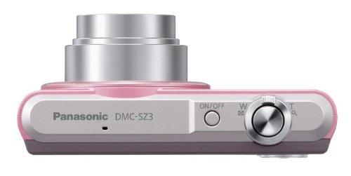 Panasonic デジタルカメラ ルミックス SZ3 光学10倍 ピンク DMC-SZ3-P