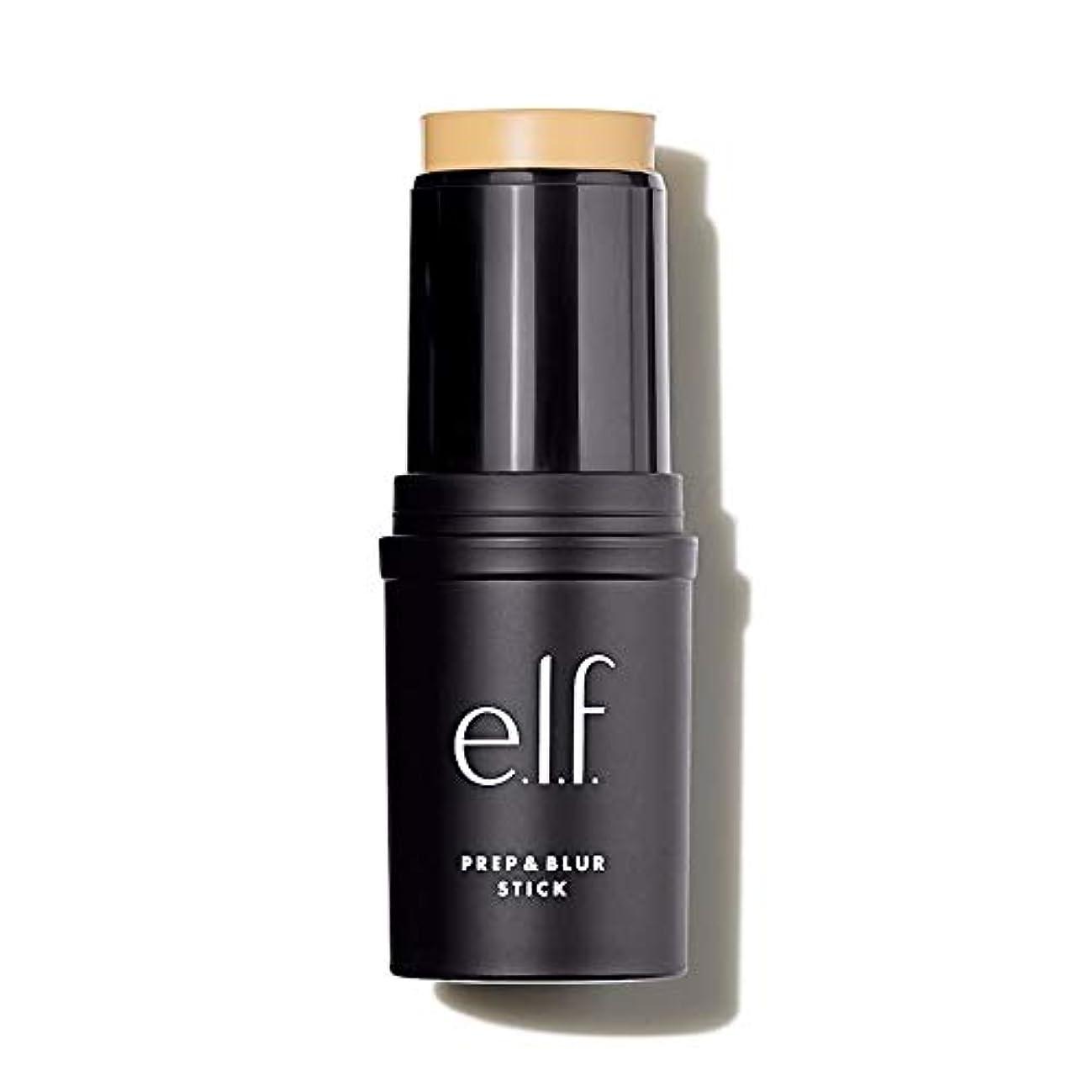 アラーム気を散らす潤滑する(3 Pack) e.l.f. Prep & Blur Stick - Sheer (並行輸入品)