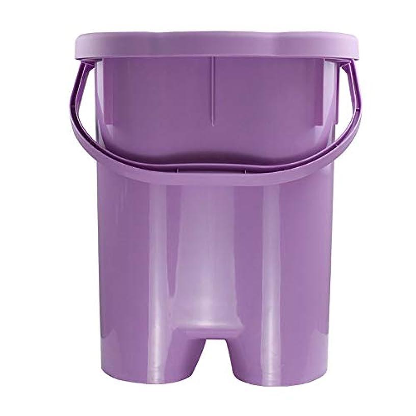 家庭用シンプルな発泡盆たたみ足湯発泡バケツバレル深いバレルポータブル厚いプラスチックフォーム盆地