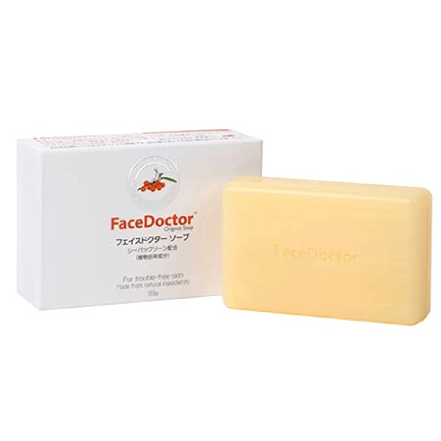 渦ロック解除に慣れ顔ダニ石鹸 FaceDoctor フェイスドクター ソープ 国内正規品