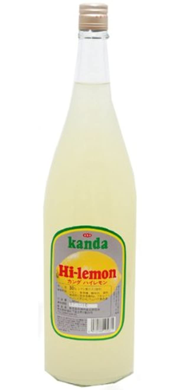 を除く一般的に怒って神田食品研究所 ハイレモン (サワー) 1.8L