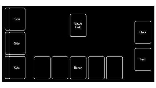 テネセシート シンプル ラバー プレイマット 収納ケース 付き (ポケモンカード)