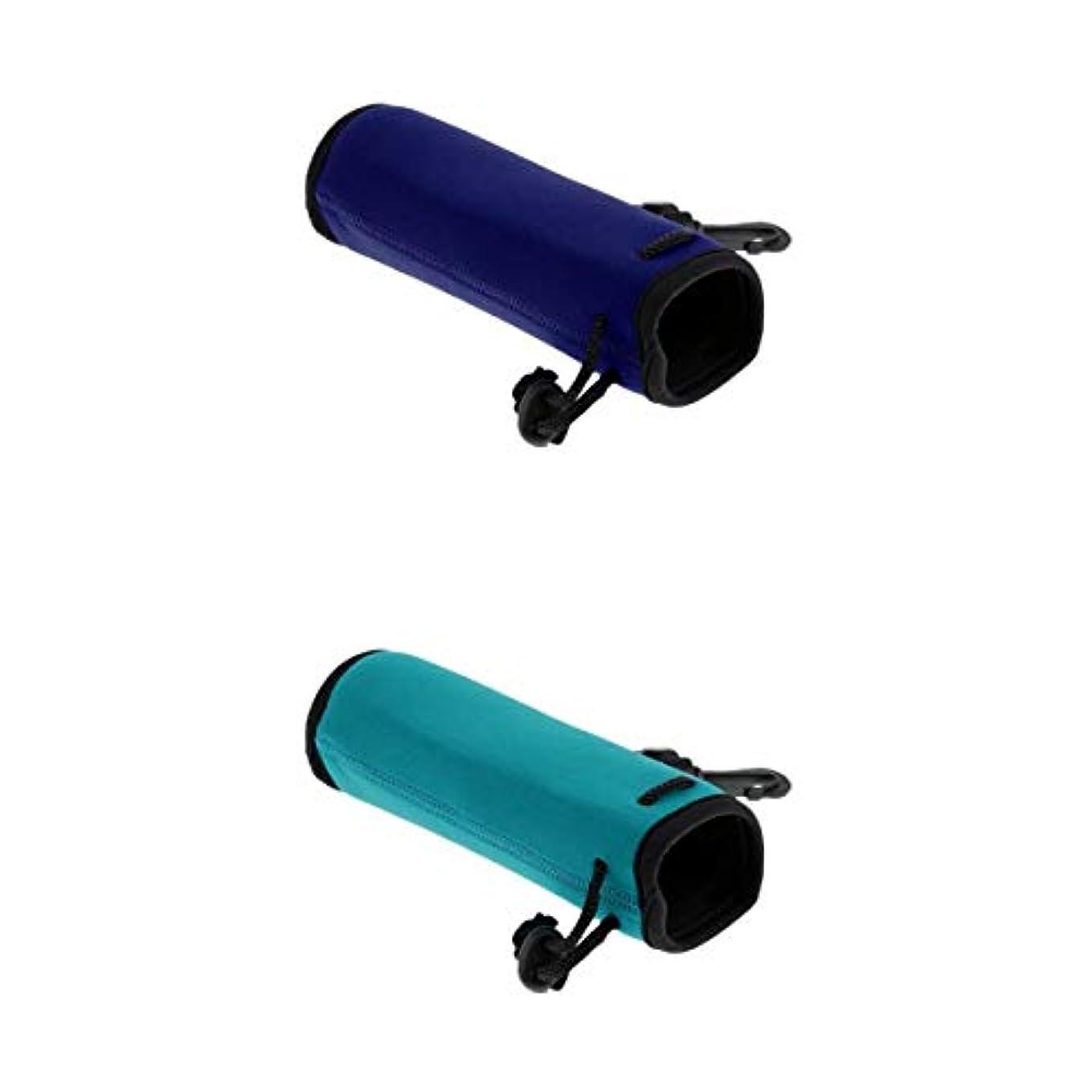 読み書きのできないエーカー貢献するT TOOYFUL ウォーターボトルキャリア 水筒ホルダー ポーチボトルバッグ 防塵カバー 携帯用 野外活動 2本
