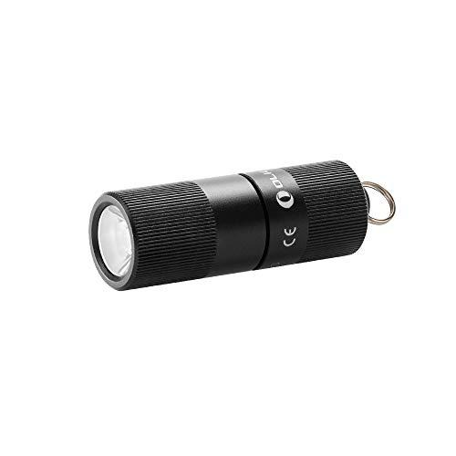 OLIGHT(オーライト) I1R EOS 小型懐中電灯 キーホルダーライト 130ルーメン ミニフラッシュライト USB充電式 ハンディライト IPX8防水 耐衝撃 2モード 80mAh電池内蔵 (I1R)