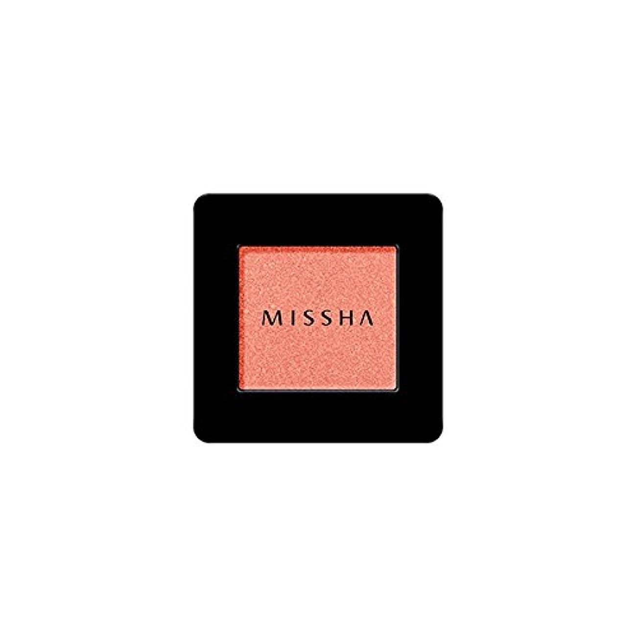 リー後悔誠実MISSHA Modern Shadow [SHIMMER] 1.8g (#SRD01 Catch Fire)/ミシャ モダン シャドウ [シマー] 1.8g (#SRD01 Catch Fire)