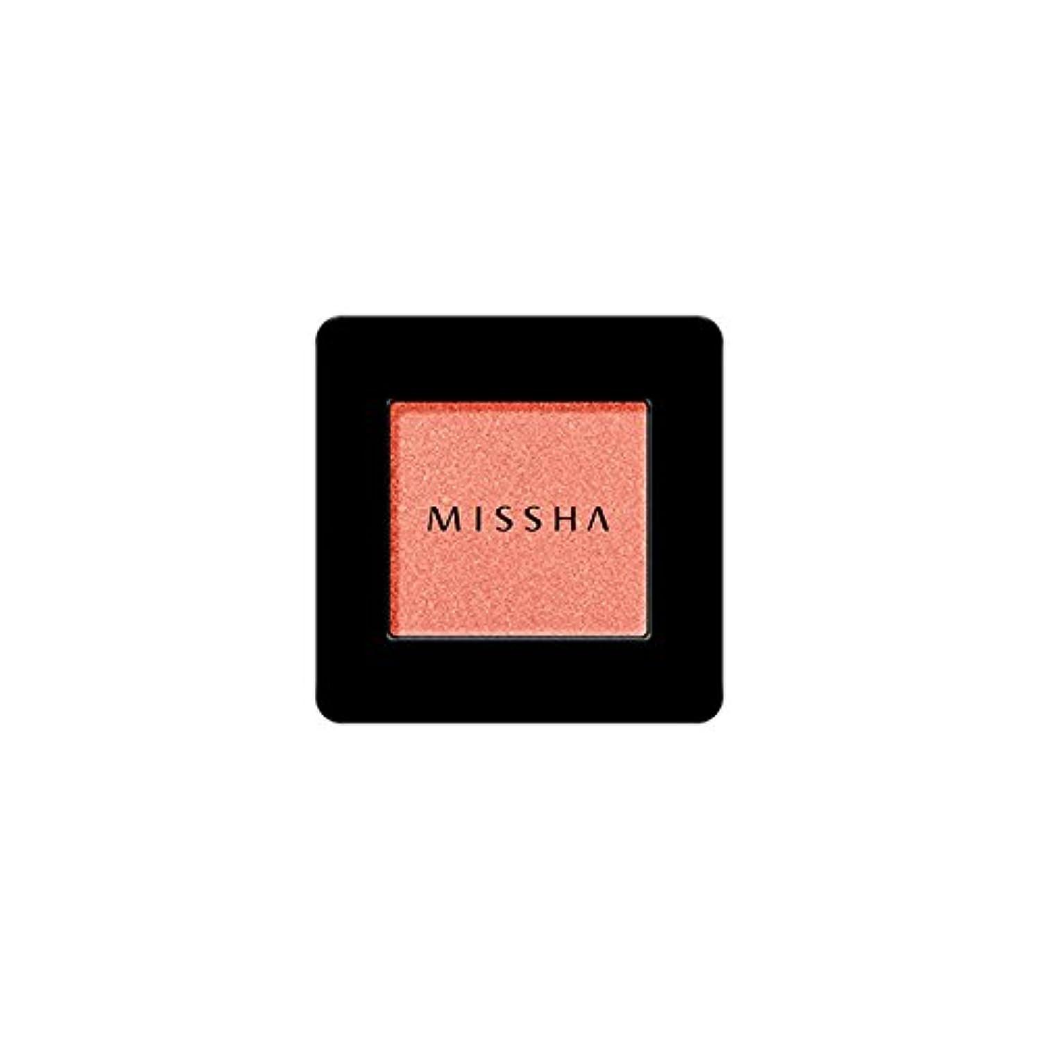 誰でも好意的お酒MISSHA Modern Shadow [SHIMMER] 1.8g (#SRD01 Catch Fire)/ミシャ モダン シャドウ [シマー] 1.8g (#SRD01 Catch Fire)