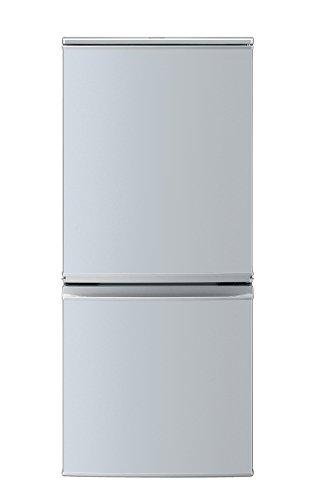 シャープ 冷蔵庫 小型 2ドア つけかえどっちもドア 137L シルバー SJ-D14B-S