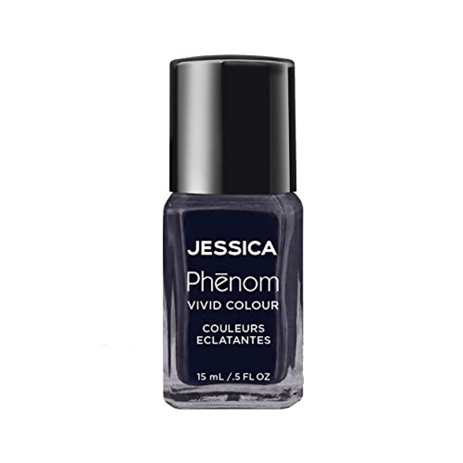 吐き出す退院ドームJessica Phenom Nail Lacquer - Blue Blooded - 15ml / 0.5oz