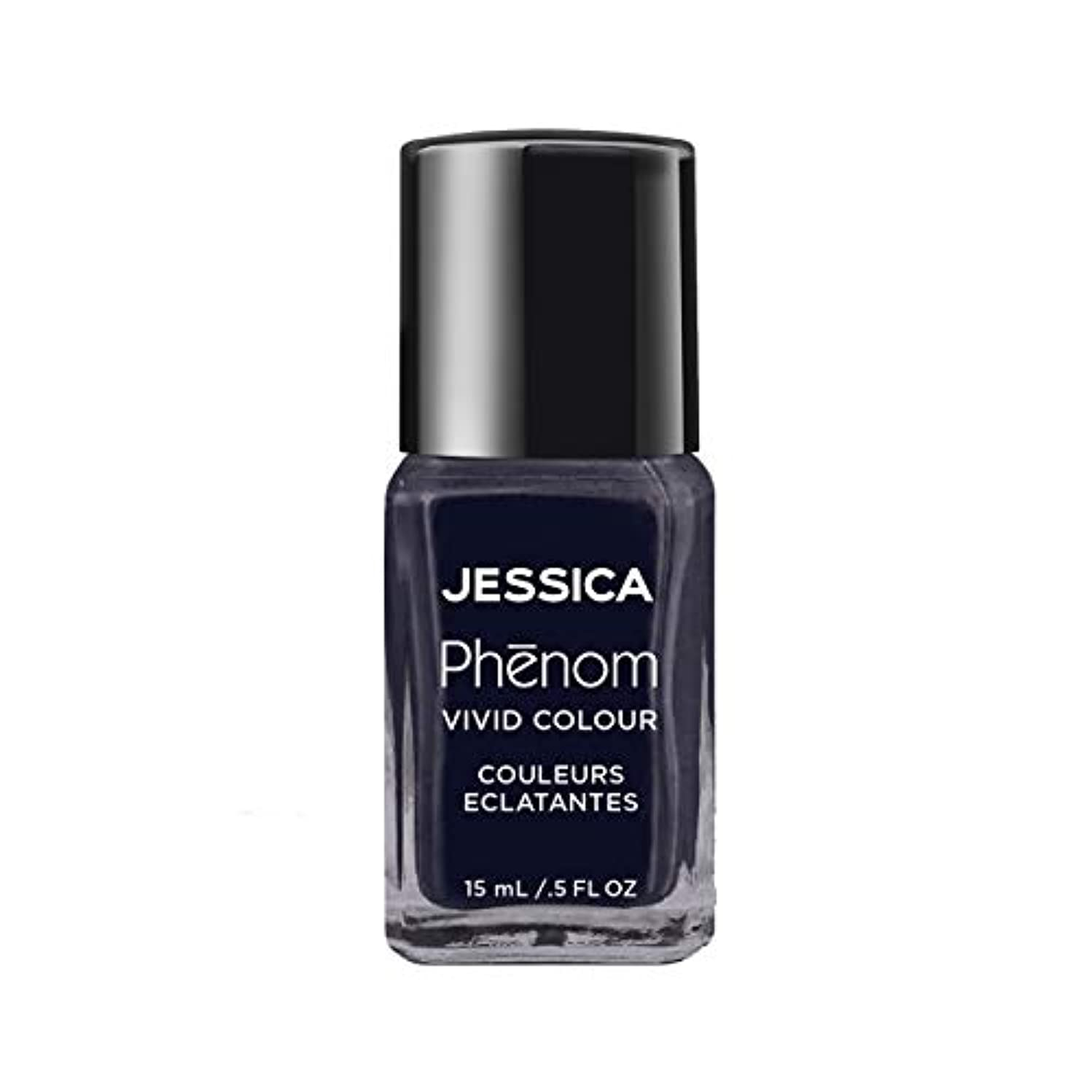 ペナルティ画面正直Jessica Phenom Nail Lacquer - Blue Blooded - 15ml / 0.5oz
