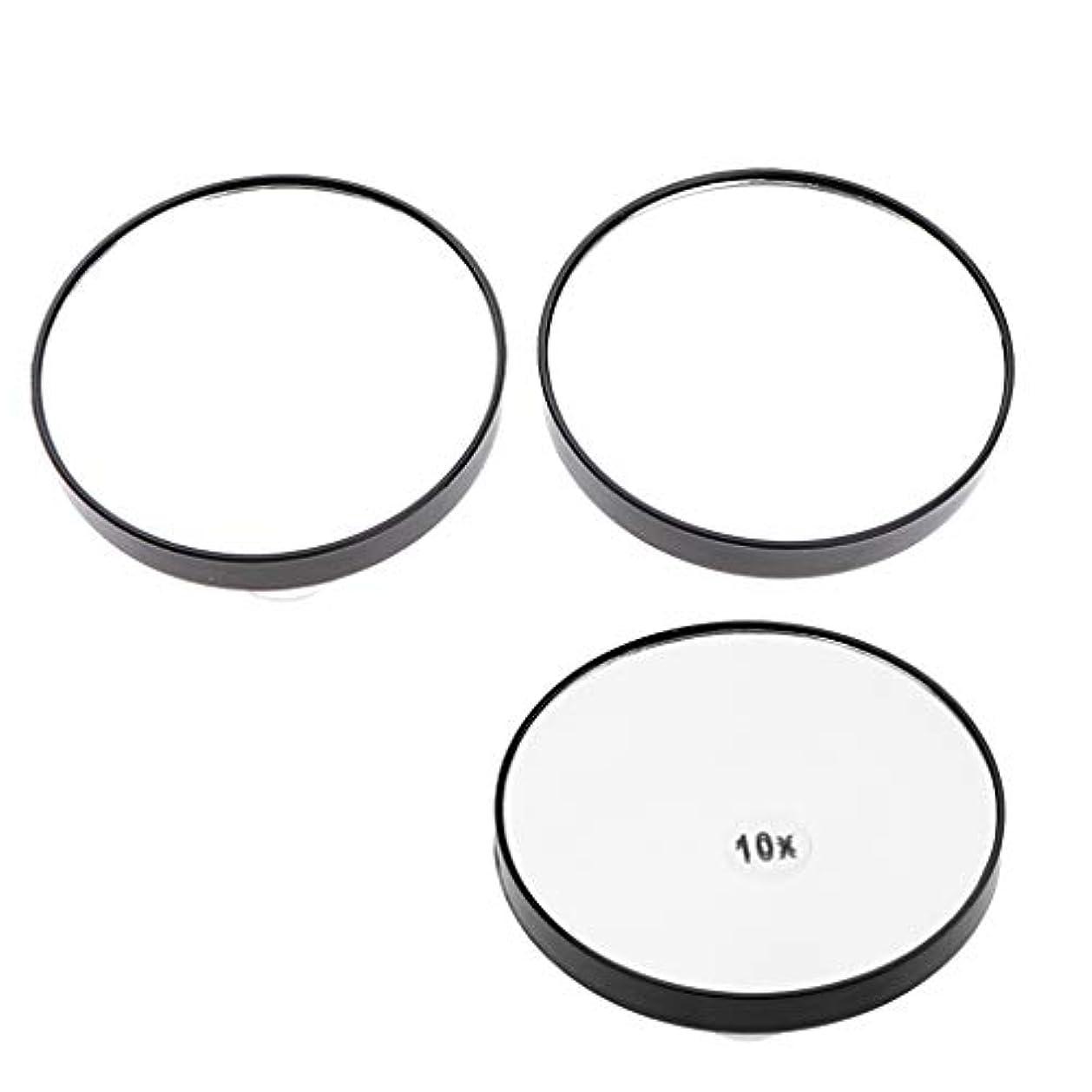 ワーディアンケース五割り当てるメイクミラー 化粧鏡 吸盤付き 浴室化粧鏡 5倍/ 10倍拡大