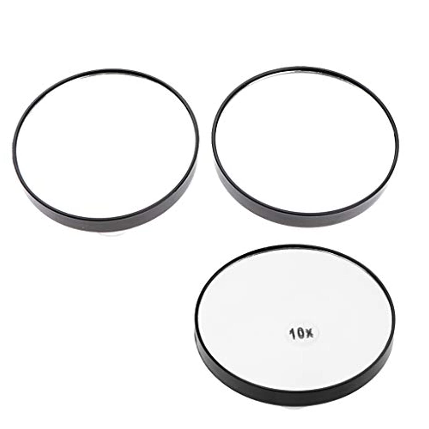 イースターバケツレタッチメイクミラー 化粧鏡 吸盤付き 浴室化粧鏡 5倍/ 10倍拡大