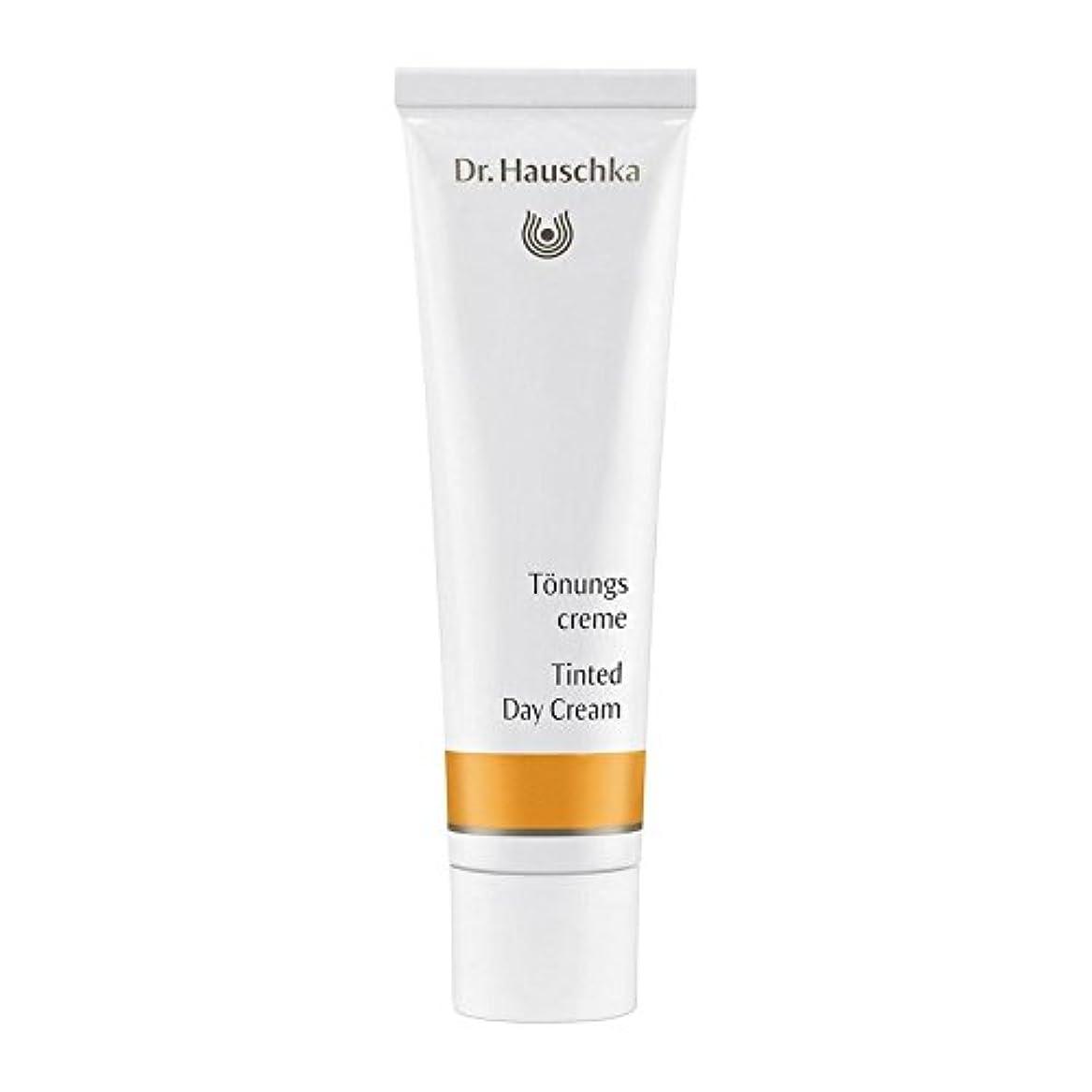 スポークスマンタフ略語ハウシュカ着色デイクリーム30 x4 - Dr. Hauschka Tinted Day Cream 30ml (Pack of 4) [並行輸入品]