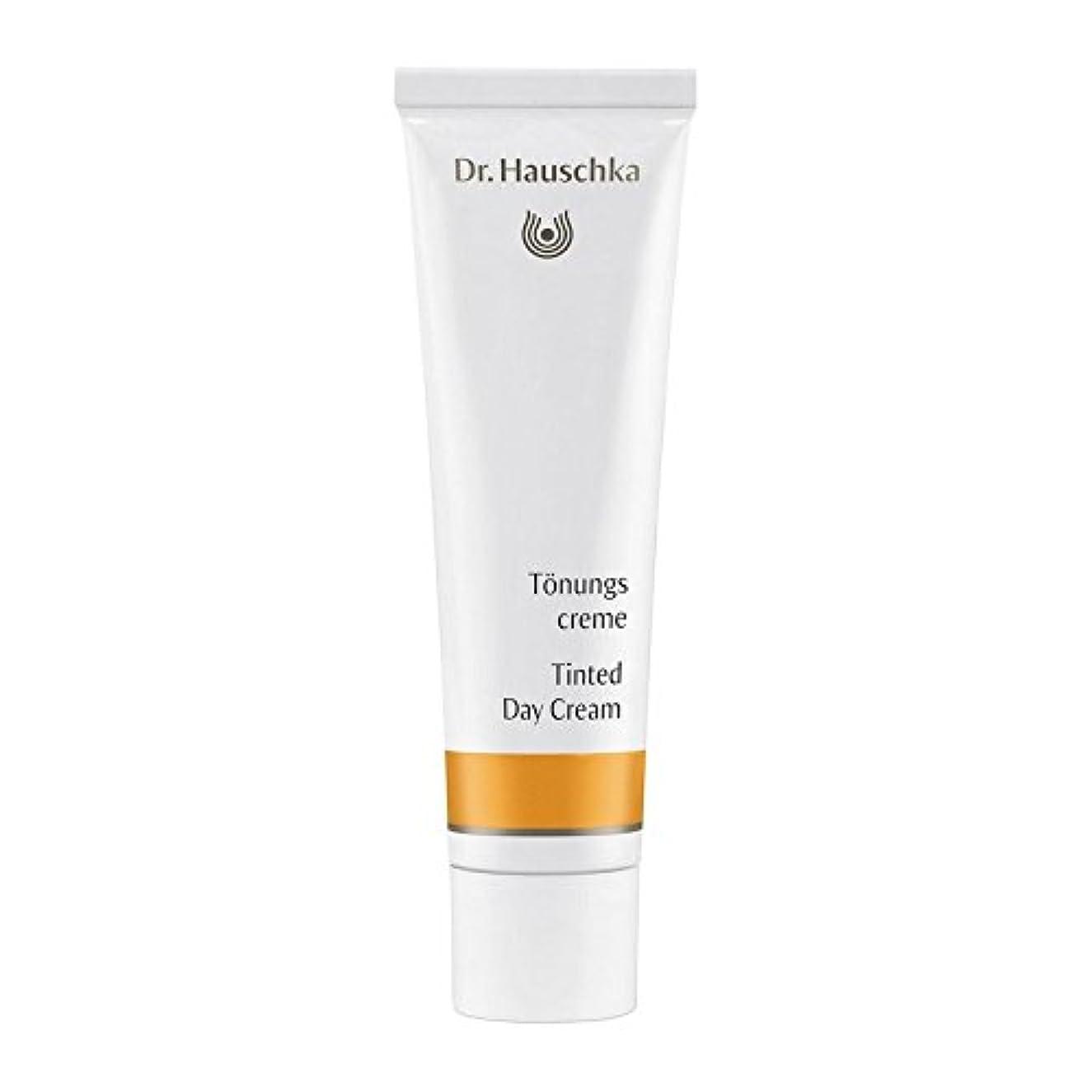 かろうじてやむを得ない役に立つDr. Hauschka Tinted Day Cream 30ml (Pack of 6) - ハウシュカ着色デイクリーム30 x6 [並行輸入品]