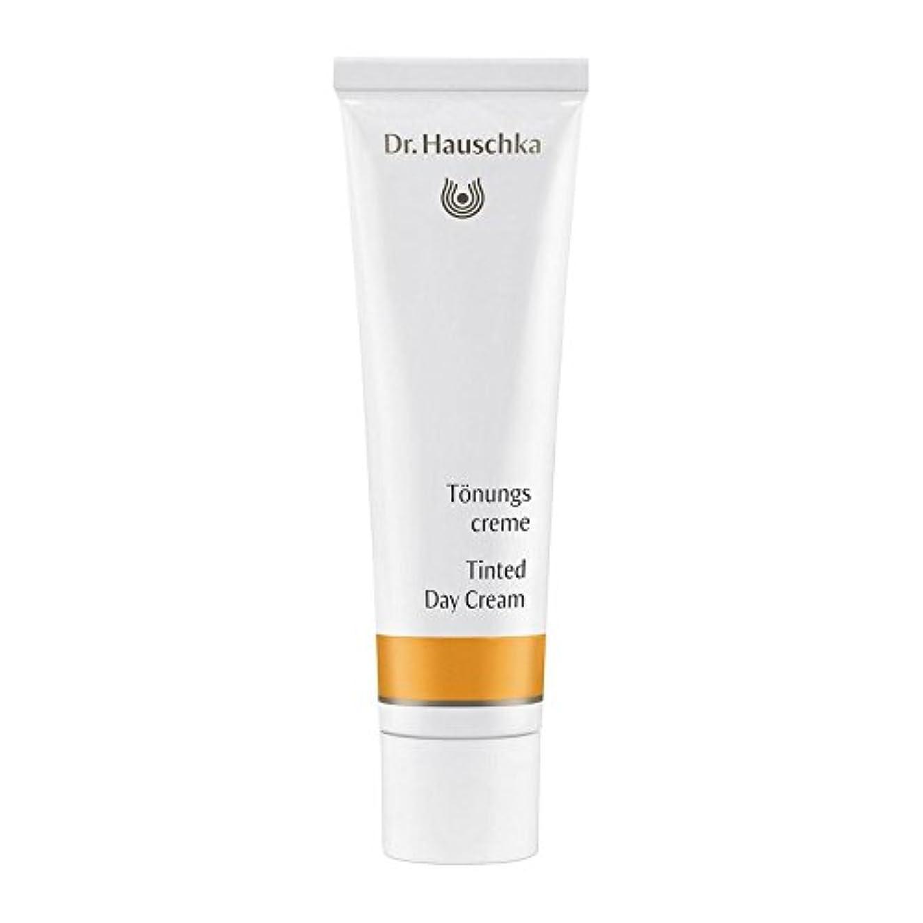 認証すずめ過去ハウシュカ着色デイクリーム30 x4 - Dr. Hauschka Tinted Day Cream 30ml (Pack of 4) [並行輸入品]
