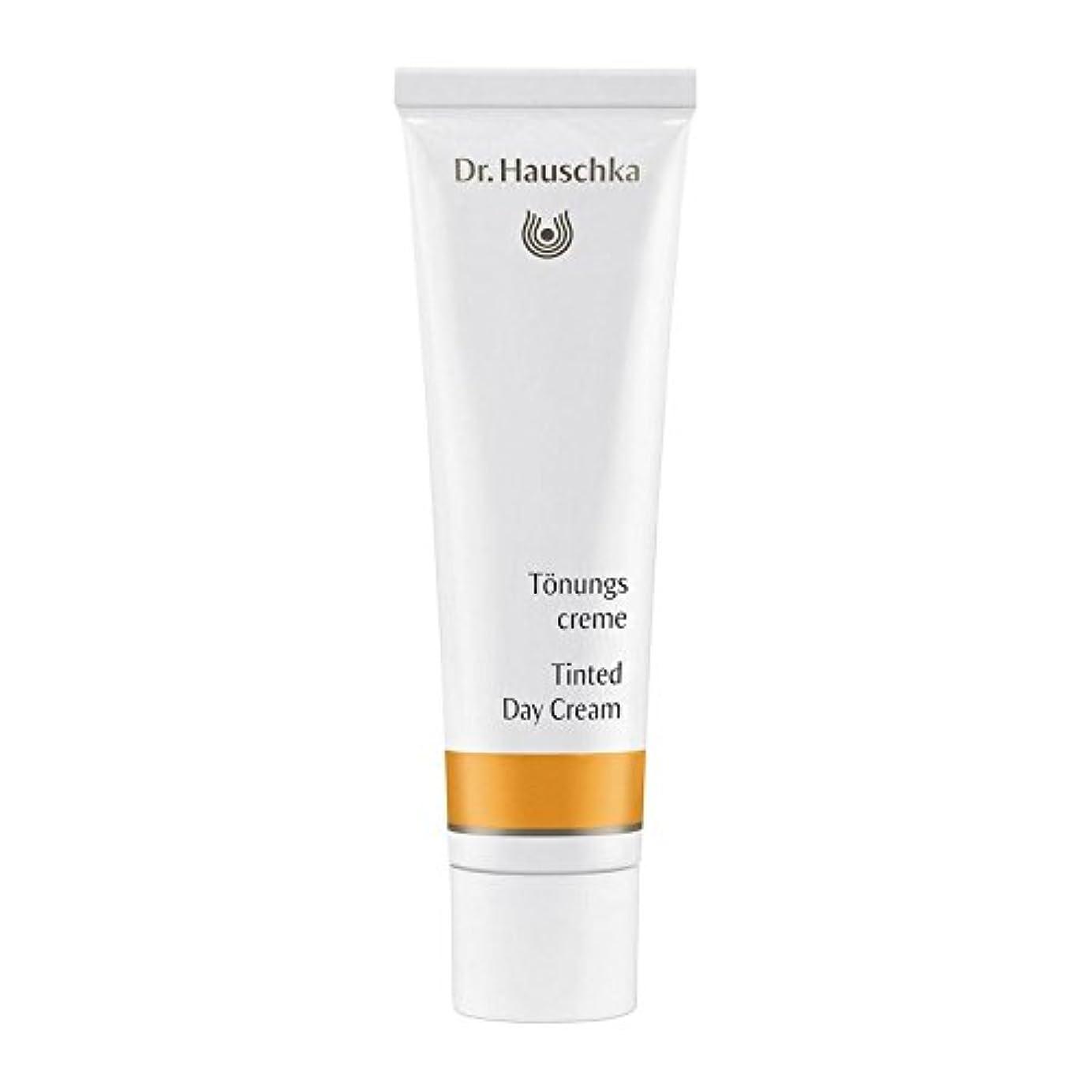 データウェーハ飛躍ハウシュカ着色デイクリーム30 x4 - Dr. Hauschka Tinted Day Cream 30ml (Pack of 4) [並行輸入品]