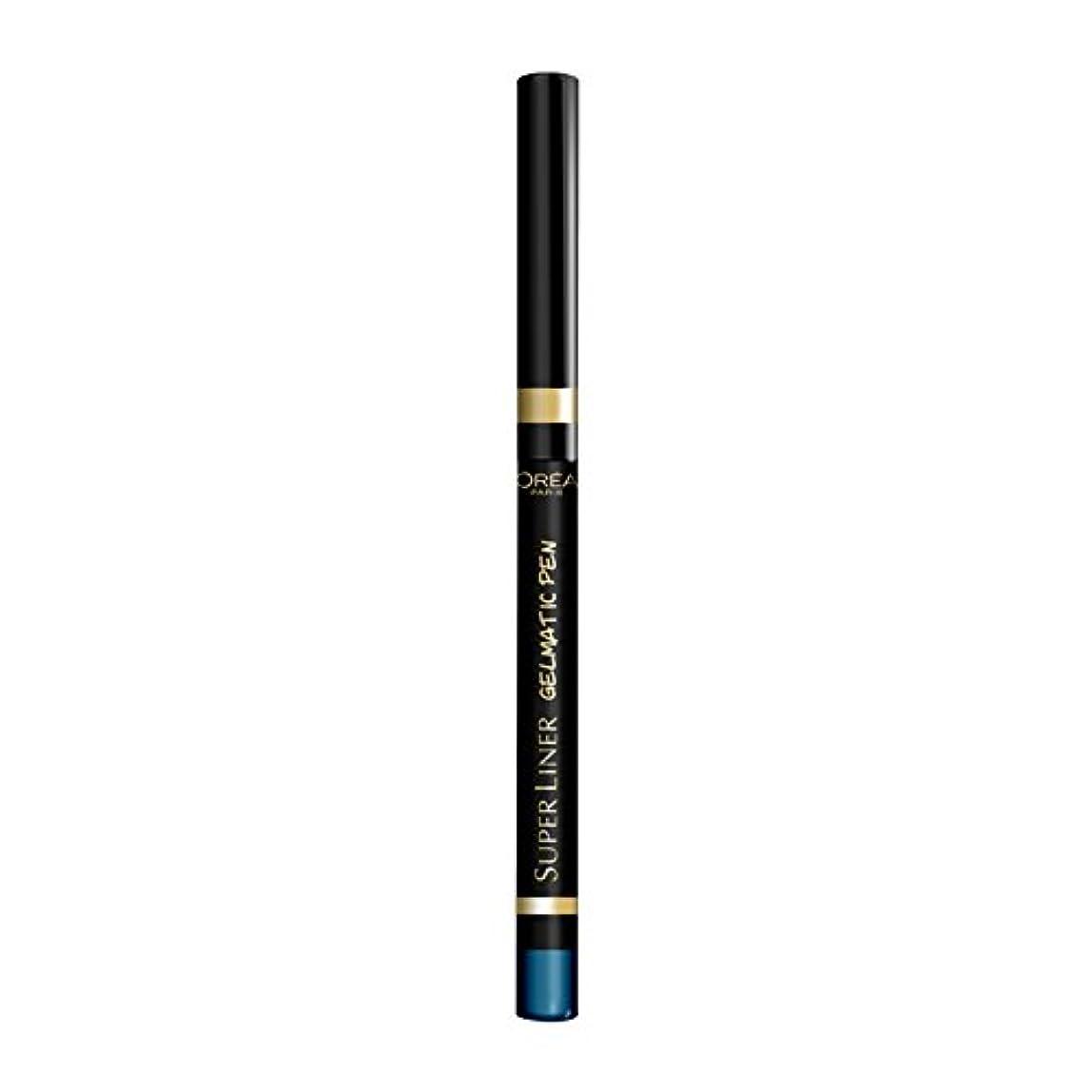 古代共感するかんがいロレアル パリ スーパーライナー ジェルマティックペン 06 ターボターコイズ