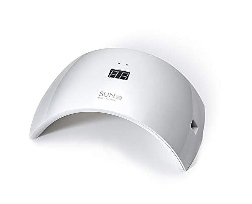 うなるパスポート体操ネイルドライヤー UV LEDネイルライト 24W ハイパワー 硬化用UVライト 赤外線検知 ジェルネイルライト 人感センサー タイマー付き ネイルランプ 速乾LEDダブルライト 母の日ギフト