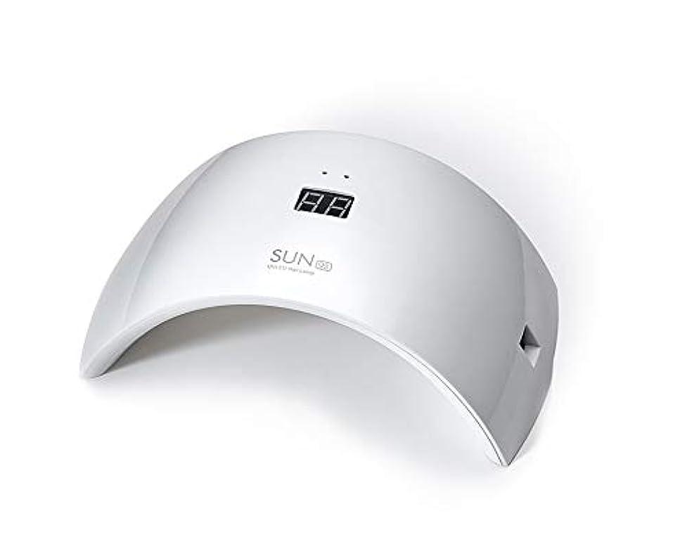 警告すずめ恥ずかしいネイルドライヤー UV LEDネイルライト 24W ハイパワー 硬化用UVライト 赤外線検知 ジェルネイルライト 人感センサー タイマー付き ネイルランプ 速乾LEDダブルライト 母の日ギフト