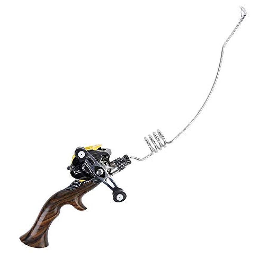 勇気のある名詞レジデンスBTXXYJP 釣りロッド 携帯型 釣り竿 伸縮可能 軽量 コンパクト 初心者用 フィッシングロッド 釣り具 (Color : シルバー, Size : 8c)