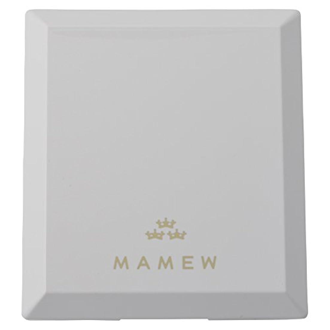 異常毎月ナビゲーションMAMEW(マミュ) カラーコレクションケース-メイクパレッド 鏡付き