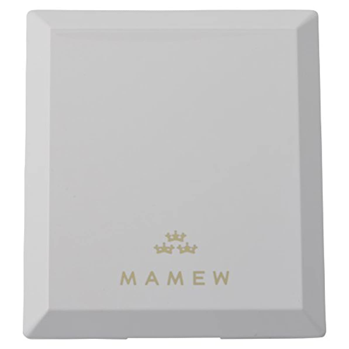 浸透するハンサム毛皮MAMEW(マミュ) カラーコレクションケース-メイクパレッド 鏡付き