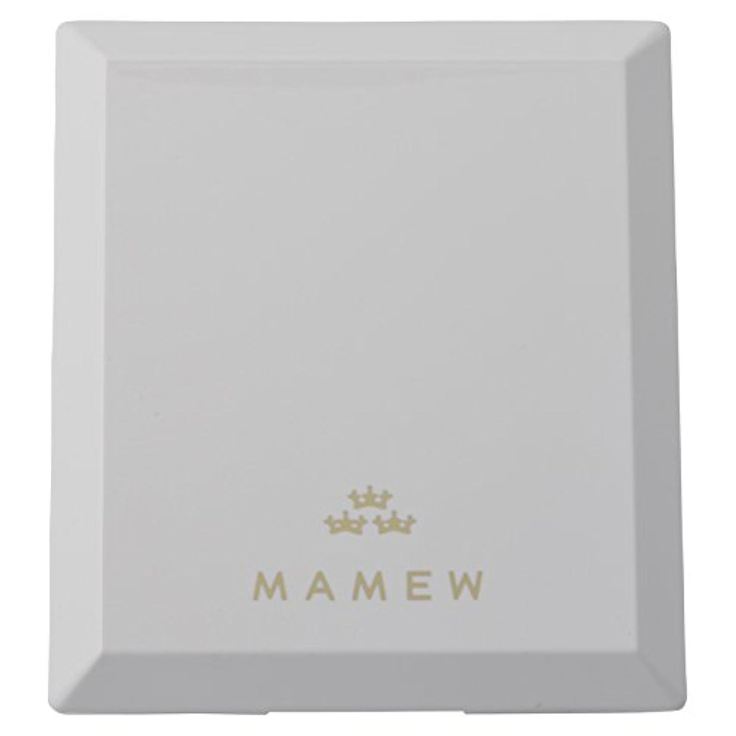 溝確かめるブロックするMAMEW(マミュ) カラーコレクションケース-メイクパレッド 鏡付き