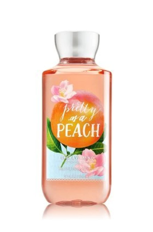 おいしい暴徒印象派【Bath&Body Works/バス&ボディワークス】 シャワージェル プリティーアズアピーチ Shower Gel Pretty as a Peach 10 fl oz / 295 mL [並行輸入品]