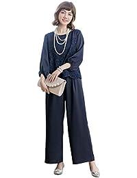 a20e407c90bd4 パンツドレス パーティードレス パンツ セットアップ レディース パンツスーツ 大きいサイズ ...