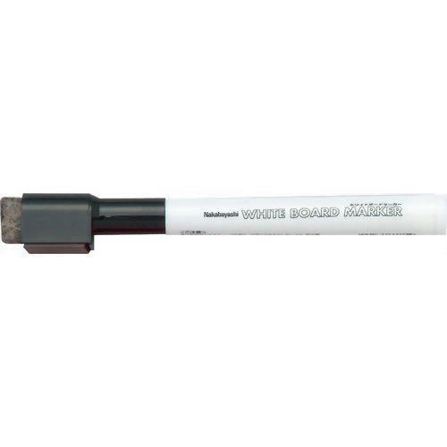 ナカバヤシ ホワイトボードマーカー 黒 2mm WMK-101D