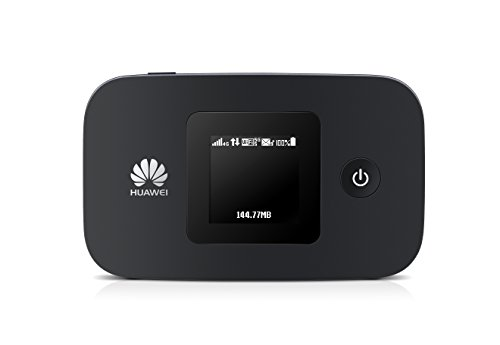 Huawei SIMフリー LTE対応 モバイルルーター Mobile WiFi E5377 ブラック  E5377s-327