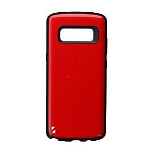 Galaxy Note8 SC-01K/SCV37 耐衝撃ハイブリッドケース「PALLET」 レッド LP-MGN8HVCRD