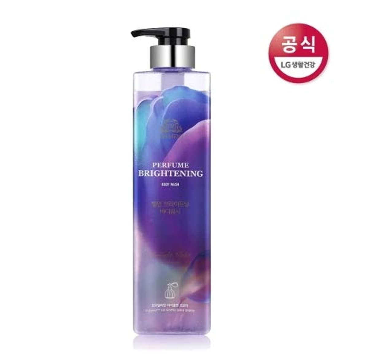 マーチャンダイジング古代憧れ[LG HnB] On the Body Belman Perfume Brightening Body Wash / オンザボディベルモンパフュームブライトニングボディウォッシュ680mlx1個(海外直送品)