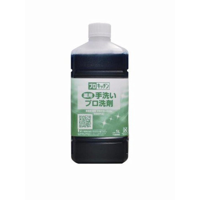 明らかにする強化木材薬用手洗いプロ洗剤 1L