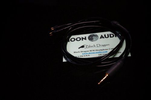 国内正規品 Moon Audio Black Dragon Fitear UPGRADE CABLE 交換用アップグレード・ケーブル ヘッドホンアンプ対応ドックケーブル -