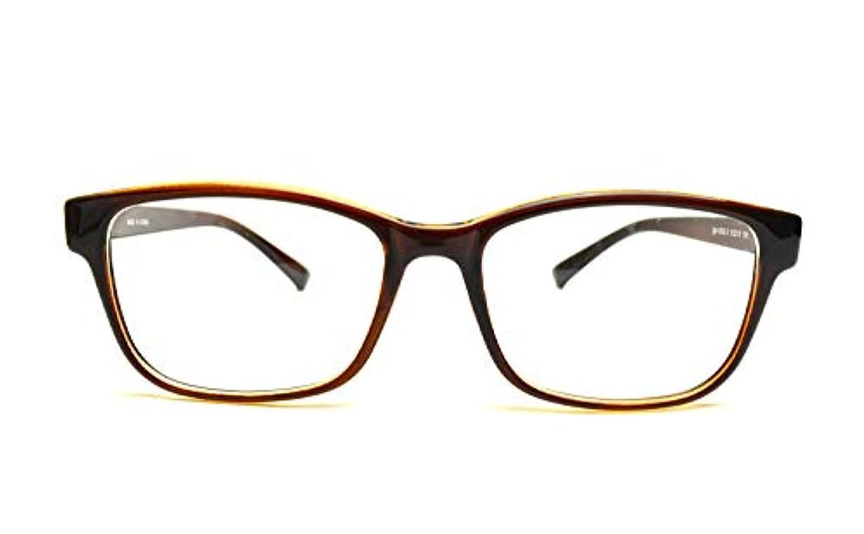 メガネ屋さんが選んだ高コスパ 老眼鏡 igo-0002 全4色 度数+1.00~+4.00 (度数+2.00, ブラウン)