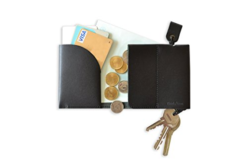 FulltoKeydell フルトキーデル-鍵を収納する財布 (ブラック)