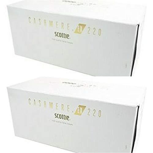 【2箱セット】カシミヤティッシュペーパー 440枚(220組)