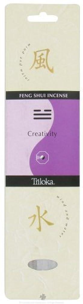 Triloka - Feng Shui Incense Creativity - 10 Stick(s) [並行輸入品]